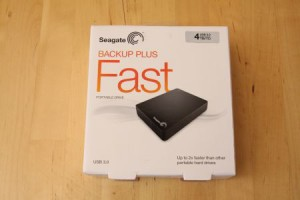 Test Seagate Backup Plus Fast