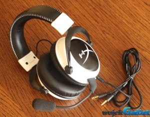Test gamingowych słuchawek Kingston HyperX Cloud White