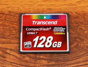 Transcend Compact Flash 800x 128GB – test nowej karty znanego producenta