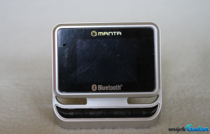 Test Manta Car FM Transmitter Bluetooth MA416