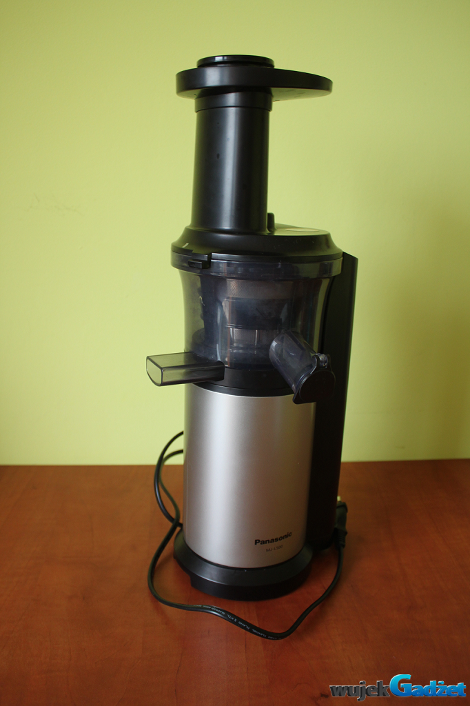Slow Juicer Test : Panasonic mjl500 test Kokkenredskaber