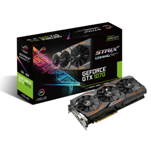 ASUS Republic of Gamers prezentuje ROG Strix GeForce GTX 1070