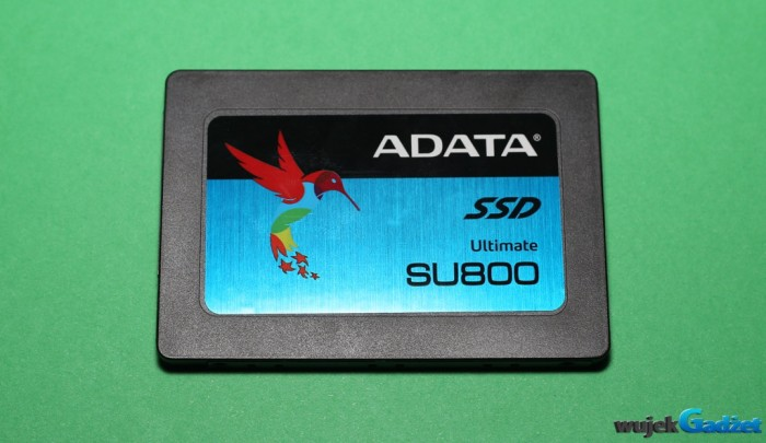 Test dysku SSD ADATA Ultimate SU800
