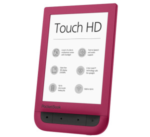 PocketBook Touch HD Ruby Red – w czerwieni jest moc