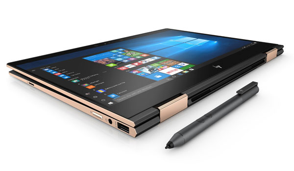 HP Spectre x360 13_Dark Ash Silver_Tablet
