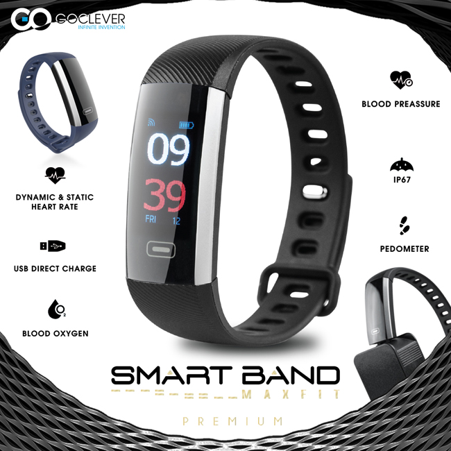 GOCLEVER Smart Band MAX FIT PREMIUM-1200x1200