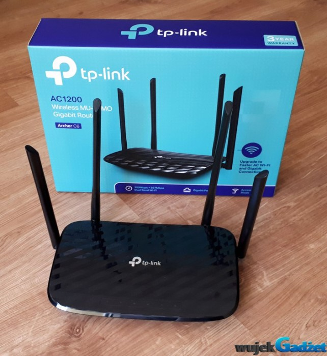 Test Routera Tp-Link Archer C6 AC1200