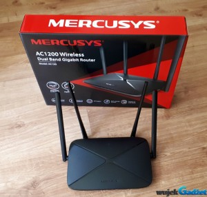 Test routera Mercusys AC1200 AC12G