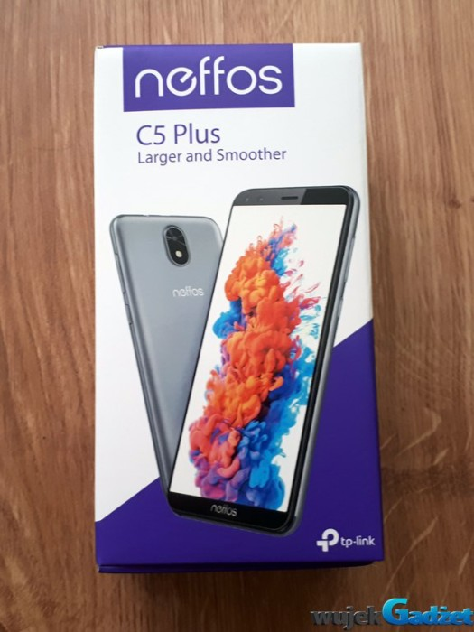 Recenzja telefonu neffos C5 Plus Larger and Smoother