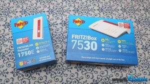 Test zestawu FRITZ!Box 7530 i FRITZ!WLAN Repeater 1750E