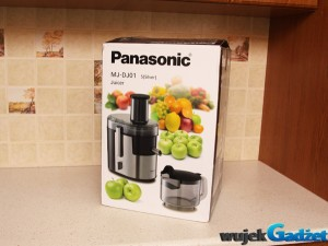 Panasonic MJ-DJ01S – test nowoczesnej sokowirówki