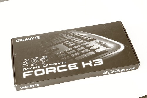 Test klawiatury Gigabyte Force K3