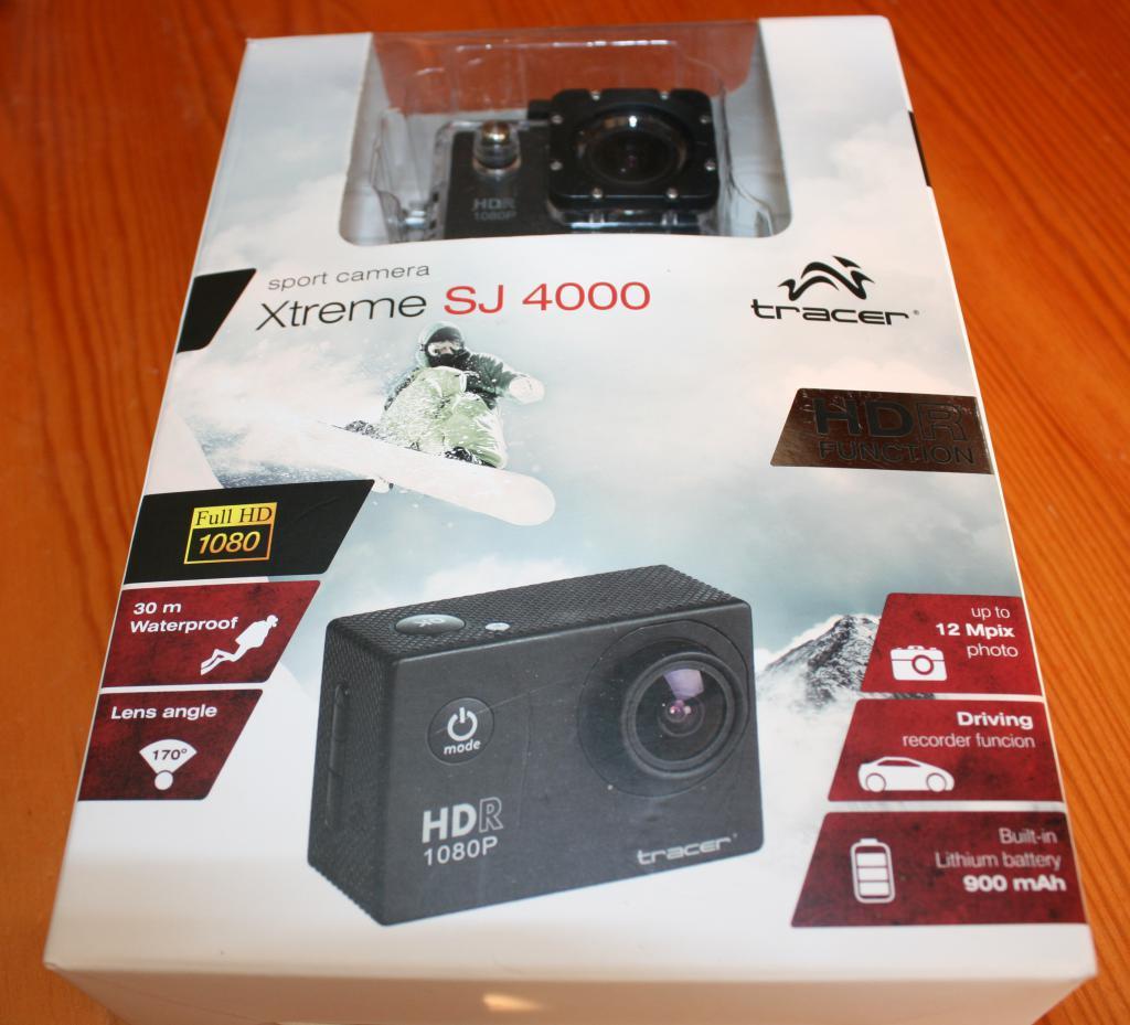 Cudowna Test Tracer SJ4000 – budżetowa kamera sportowa wzorowana na GoPro AA42