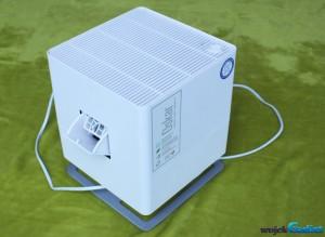 Test ewaporacyjnego nawilżacza powietrza firmy Stadler Form model Oskar