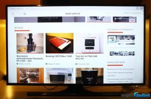 Test telewizora 4K Samsung JU6400 48″ UHD Smart TV Seria 6