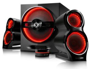 Głośniki Ravcore Trident – gamingowy design i dobrajakość dźwięku
