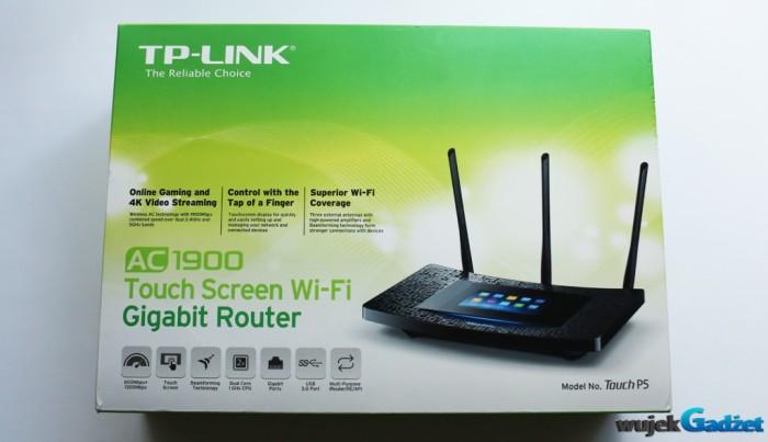 Test dotykowego routera TP-LINK Touch P5