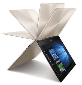 Pierwszy ZenBook z możliwością obrotu ekranu o 360 stopni już w Polsce