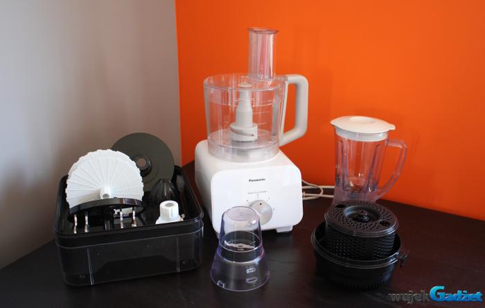 Test robota kuchennego Panasonic MK-F500