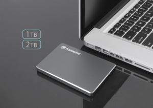 Aluminiowy elegant – przenośny dysk Transcend