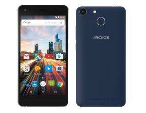 ARCHOS 50f Helium – niedrogi smartfon  z czytnikiem linii papilarnych
