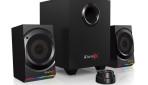 Creative Sound BlasterX Kratos S5 – zestaw głośników 2.1 premium z dźwiękiem przestrzennym 7.1 i podświetleniem wchodzą do sprzedaży.