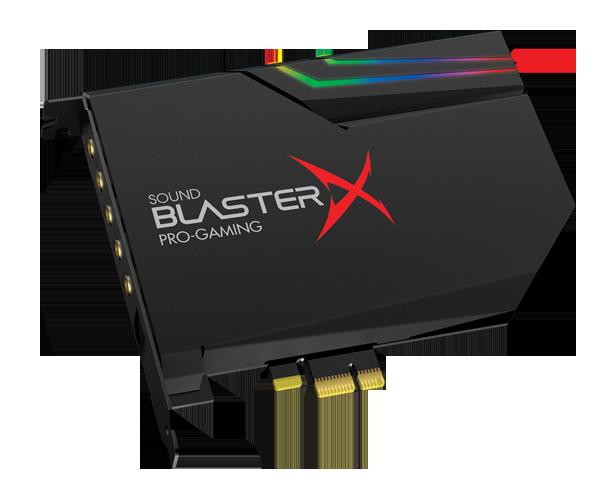 Creative prezentuje najnowszą kartę dźwiękową nowej generacji Sound BlasterX AE-5 z najwyższej półki światowej