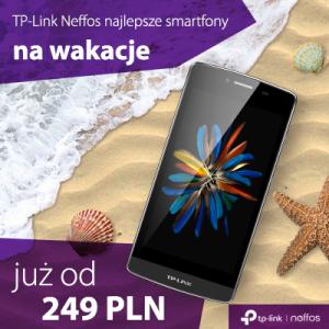 Smartfon na wakacje – zabierz ze sobą Neffosa od TP-Link