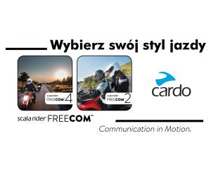 Cardo Scala Rider FREECOM – następca popularnych interkomów motocyklowych z serii Q