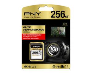 PNY Elite nowa karta SD 100MB/s z USA SD Elite Performance o wydajności 100 MB / s