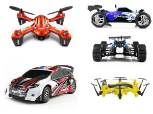 Drony zabawkowe JJRC dla dzieci i dorosłych