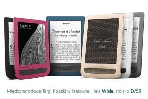 Krakowskie Targi Książki w kolorach PocketBook
