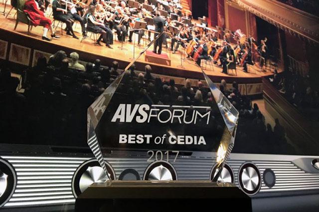 X-Fi Sonic Carrier - AVS Forum Best of CEDIA 2017