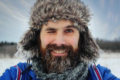 Jak zadbać o brodę gdy jest zimno?
