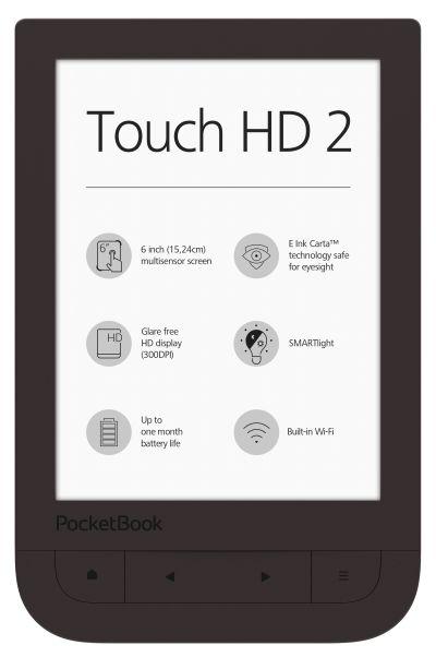 PocketBook Touch HD 2 – komfortowe e-czytanie w nowym świetle