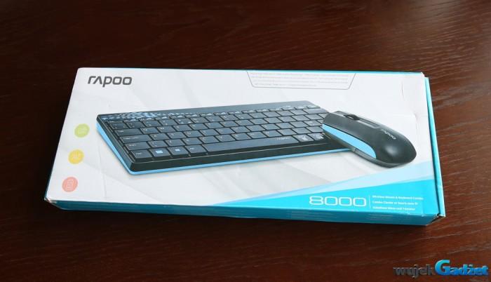 Rapoo 8000 – test bezprzewodowego zestawu w atrakcyjnej cenie