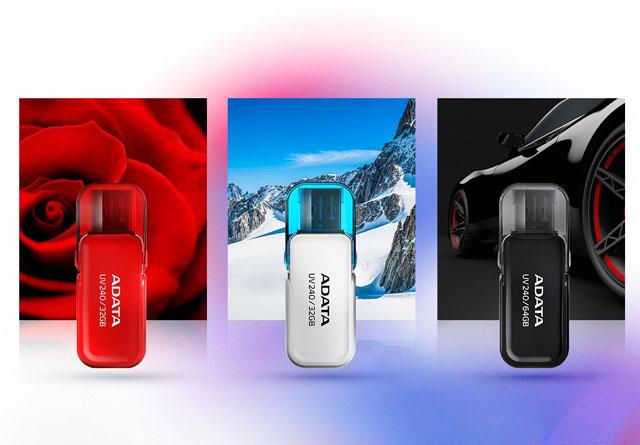 ADATA UV240 – klasyczny pendrive o pojemności do 64 GB
