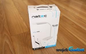 Test lampki biurkowej Natec Firefly Office