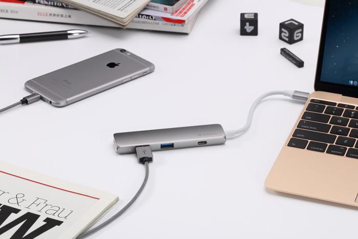 Verbatim przedstawia adapter USB-C  ze złączem  HDMI 4K