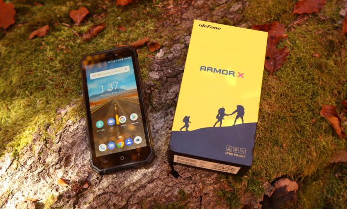 Test pancernego smartfona Ulefone Armor X