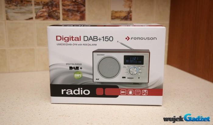 Test uniwersalnego radia Ferguson Digital DAB+150