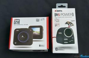 Wideorejestrator Xblitz Z3 + Zasilacz kamer samochodowych Xblitz R5 POWER