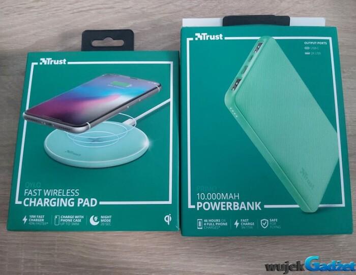 Recenzja Powerbank i Fast Wireless Charging PAD TRUST