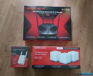 MERCUSYS: Router MR70X, Range extender ME30, Mesh Halo S12